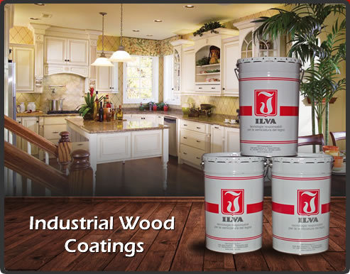 industrial wood coating